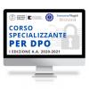 Corso Online specializzante per DPO 2020-2021