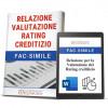 Relazione Valutazione Analisi di Bilancio e Rating Creditizio
