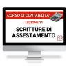 Corso Contabilità scritture di assestamento