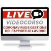 Corso Online coronavirus e gestione dei rapporti di lavoro