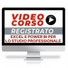 video corso online excel e power bi per lo studio professionale