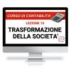 videolezione trasformazione della società