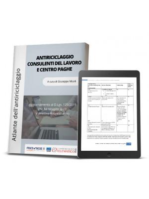 eBook | Antiriciclaggio Consulenti del lavoro e Centro paghe