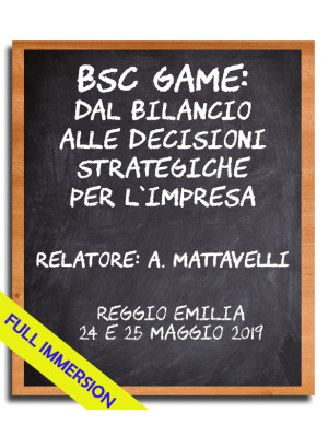 BSC GAME: dal bilancio alle decisioni strategiche per l'impresa