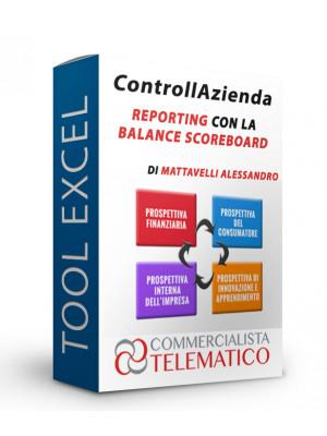 ControllAzienda reporting con Balanced Scorecard