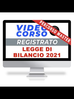 corso online per commercialisti legge di bilancio 2021
