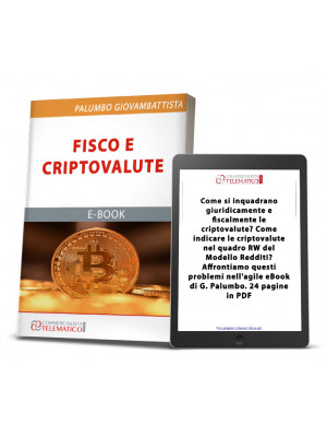 eBook | Fisco e criptovalute