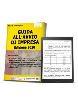 eBook Guida all'avvio di un'impresa