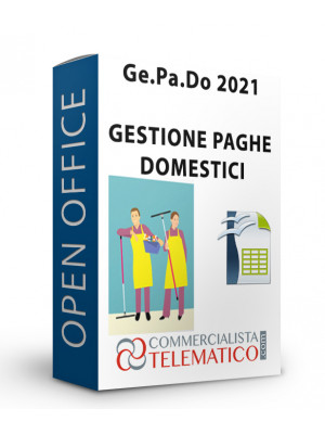 Tool Open Office | Ge.Pa.Do. Gestione Paghe Domestici 2021
