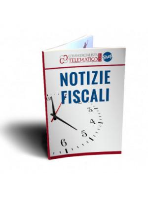 Notizie Fiscali Flash | Per il Tuo Sito Web | Commercialista Telematico