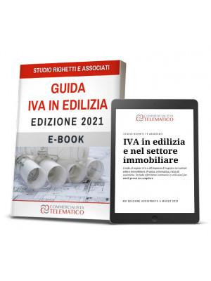 eBook | Guida IVA Edilizia e Settore Immobiliare 2021