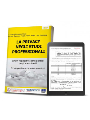 eBook | La Privacy negli studi professionali
