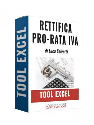 Tool Excel | Rettifica pro-rata IVA