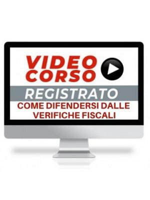 Corso Online Registrato | Come difendersi dalle verifiche fiscali