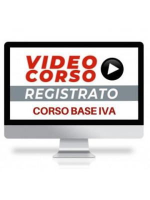 Corso Online Registrato | Corso Base IVA