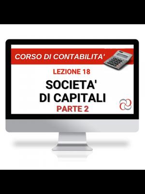 corso online sulle società di capitali