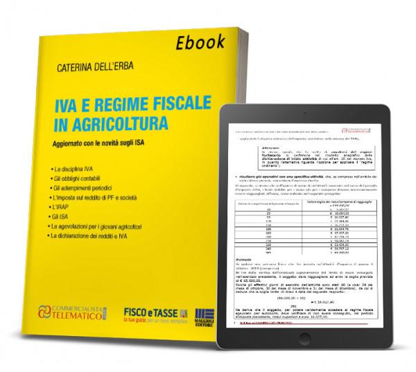 eBook | Iva e regime fiscale in agricoltura