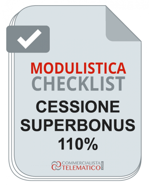 Check-list Easy per Cessione del credito Superbonus