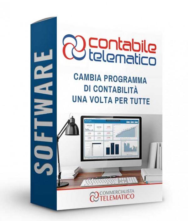 CONTABILE TELEMATICO | Software di contabilità | Commercialista Telematico