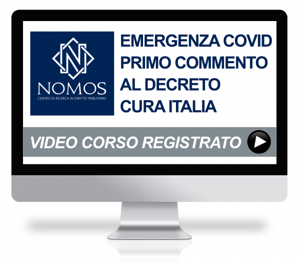 Emergenza Coronavirus e Misure a sostegno dell'economia: primo commento con Dario Deotto