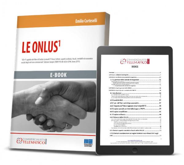 Ebook Onlus fiscalità