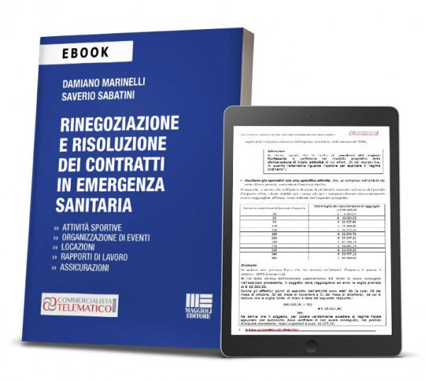 ebook Rinegoziazione e risoluzione dei contratti in emergenza sanitaria