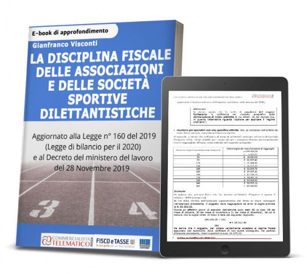 eBook Disciplina fiscale delle associazioni e delle società sportive dilettantistiche