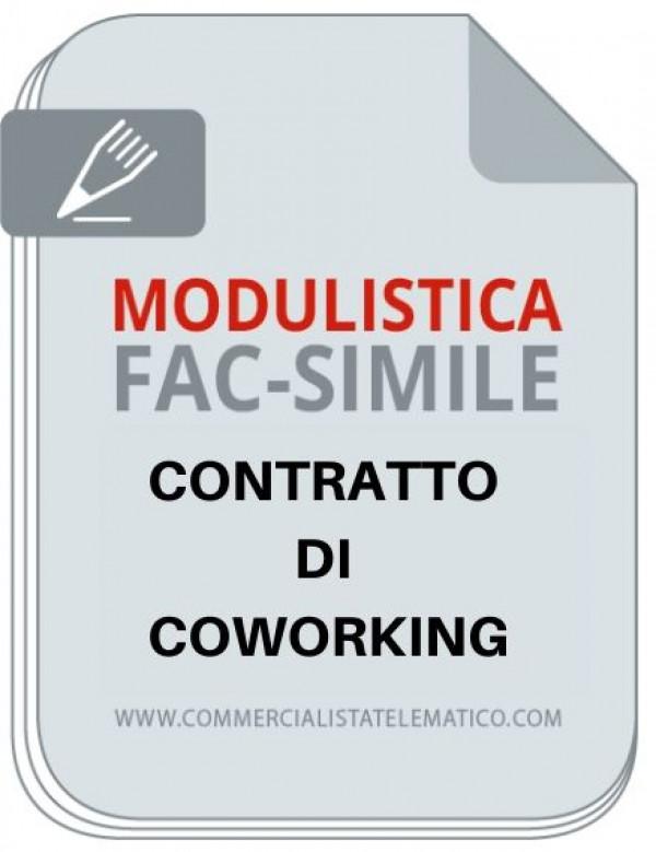 contratto coworking facsimile