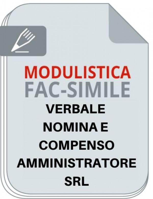 Fac-simile di verbale per nomina e compenso amministratori - Commercialista Telematico