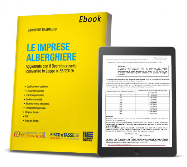 eBook in PDF di 270 pagine. Autori: Salvatore Dammacco. Le imprese alberghiere