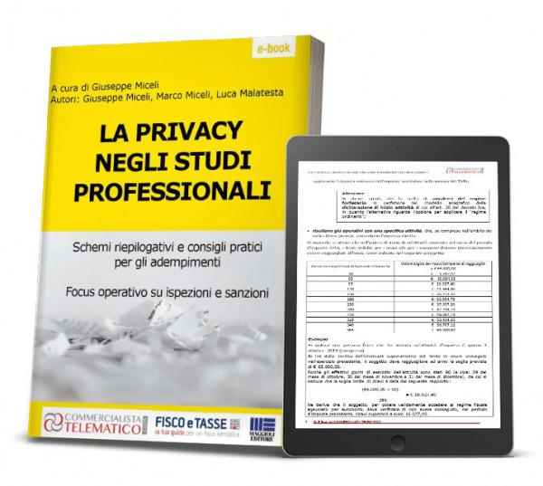 eBook | La Privacy negli studi professionali