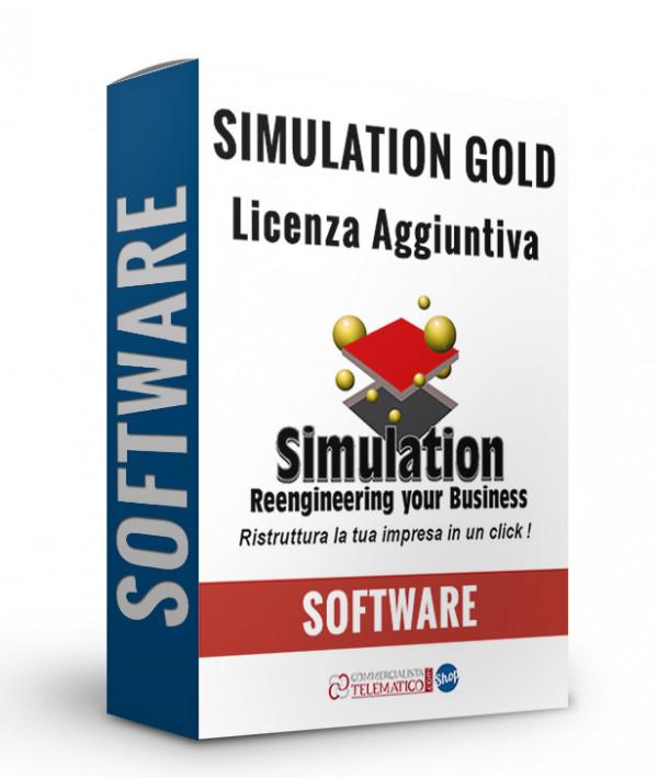 Simulation Gold Licenza Aggiuntiva