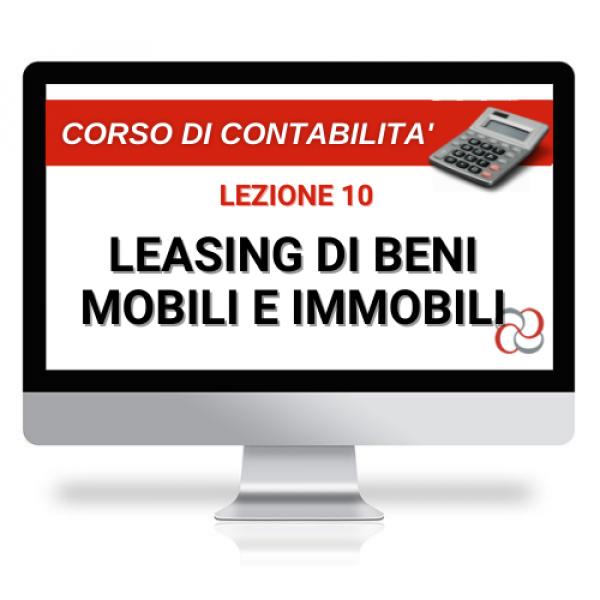 videolezione leasing di beni mobili ed immobili
