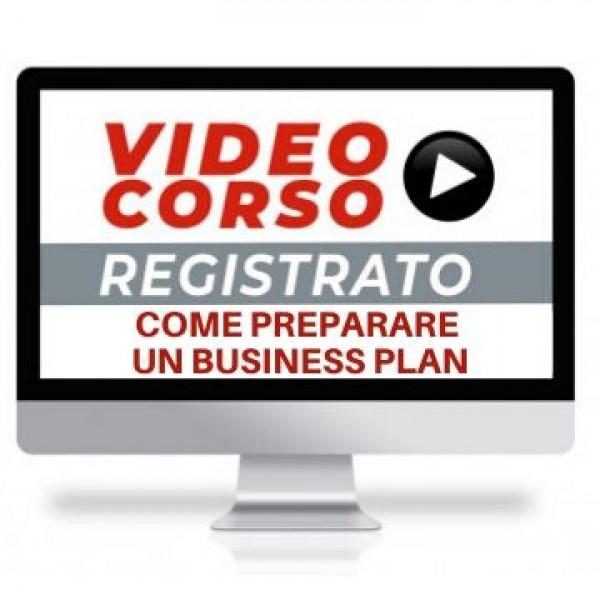 corso online come preparare un business plan