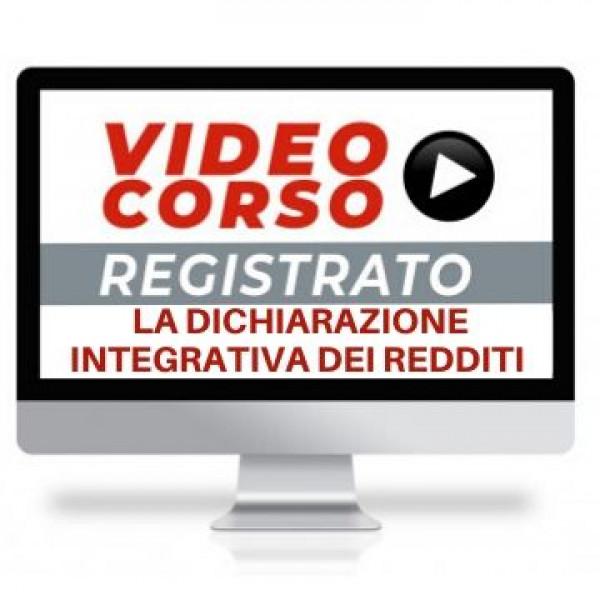 Corso Online sulla dichiarazione integrativa del modello redditi
