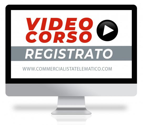 Corso Online Registrato