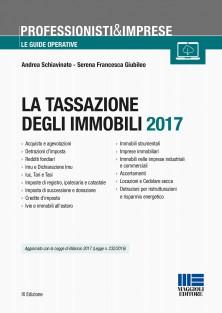Libro tassazione immobili 2017 maggioli editore commercialista telematico - Tasse successione immobili ...