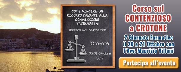 Corso evento Villani su come vincere un ricorso davanti alla commissione tributaria | Commercialista Telematico