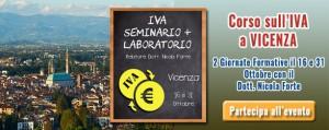 Corso evento a Vicenza per seminario sulla iva | Commercialista Telematico