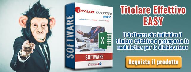 Software Titolare Effettivo Antiriciclaggio | Commercialista Telematico