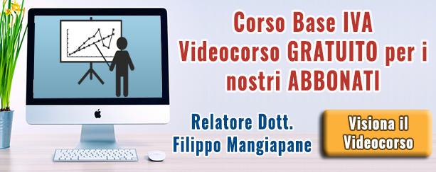 Corso Base IVA | Commercialista Telematico
