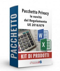 Pacchetto sulle novità privacy del Regolamento Ue 2016/679