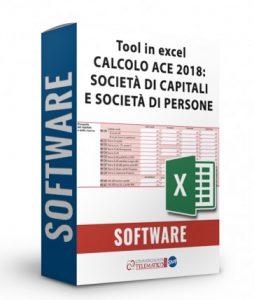 Tool in Excel per il calcolo dell'ACE per Redditi 2018 anno d'imposta 2017