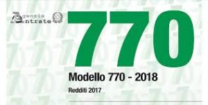 modello 770-2018