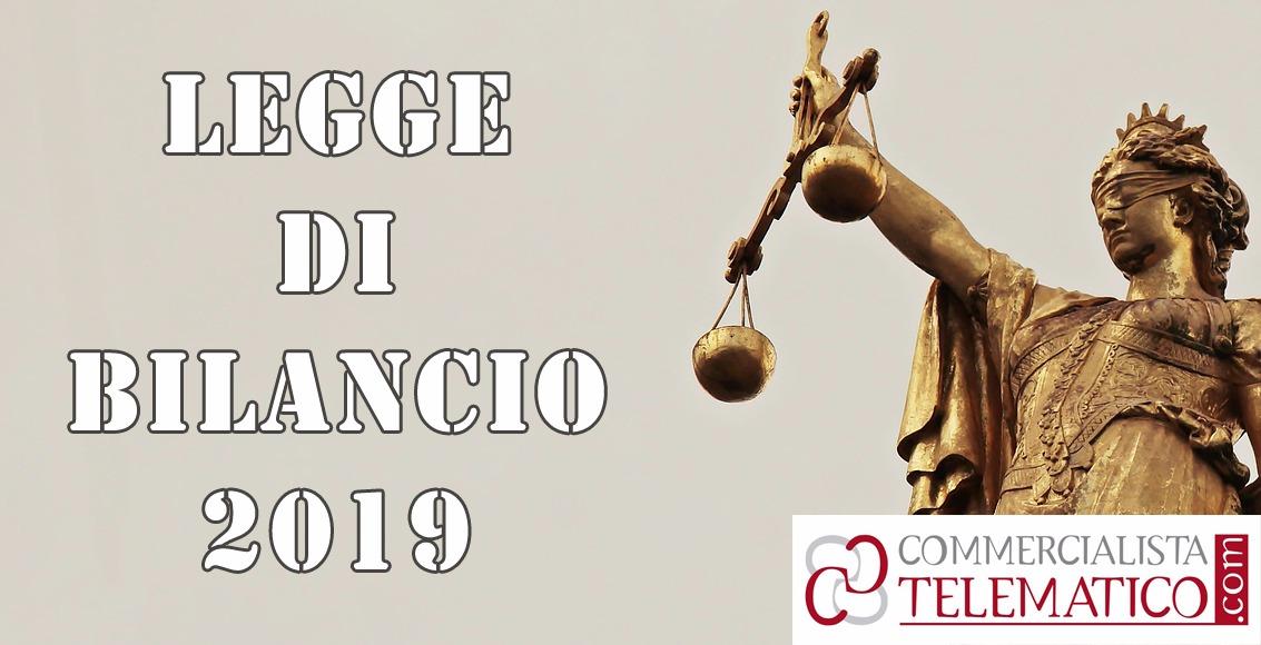 Disegno di legge di bilancio 2019