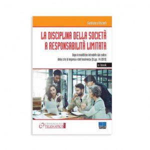 ebook la disciplina delle srl dopo la riforma del codice della crisi d'impresa