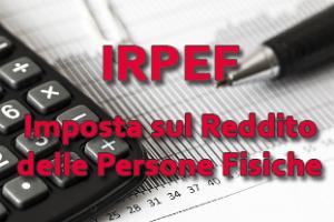 irpef - imposta sul reddito delle persone fisiche - aliquote e detrazioni