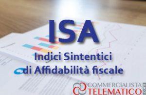 ISA indici sintetici di affidabilità fiscale Commercialista Telematico