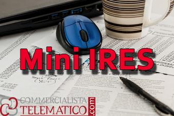 MINI-IRES - l'agevolazione sull'imposta sul reddito delle società