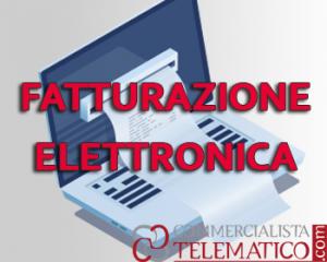 fatturazione elettronica o e-fattura o fattura elettronica
